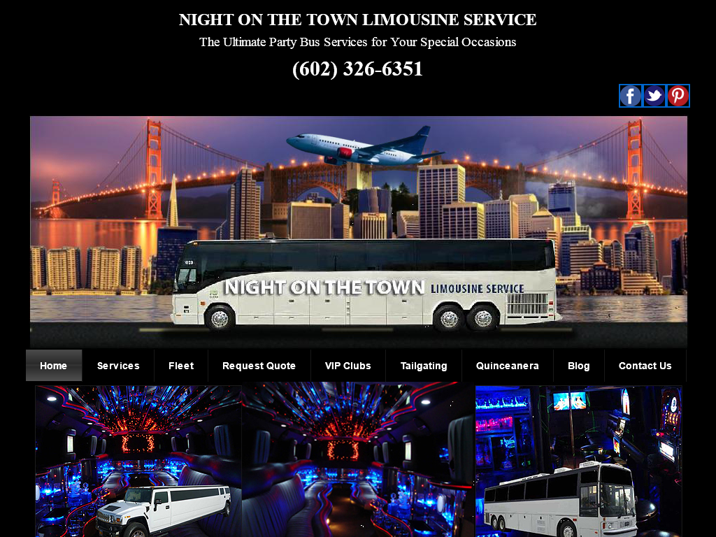 Night On The Town Limousine Service