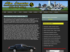 Allen Limousine Service Of Dallas