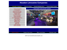 Houston Limousine Companies