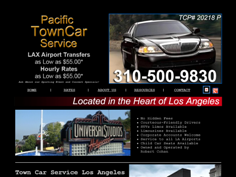 Pacific Town Car Of Los Angeles